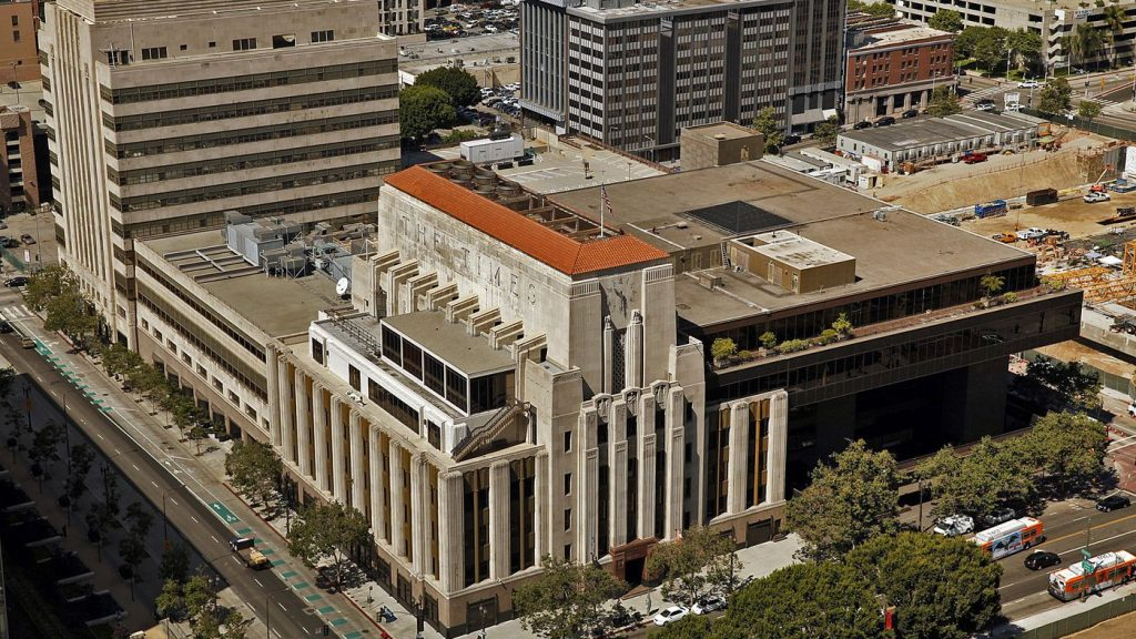 Los Angeles Times Building - Air Quality Permitting